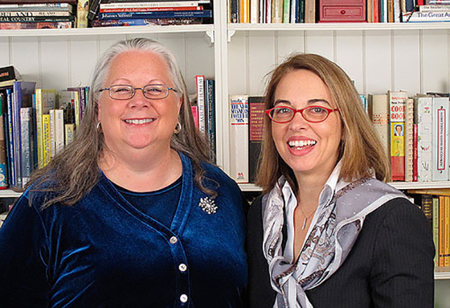 Susan Rink and Geary C. Morris, Senior Vice President, Marketing, Dimension Data Americas
